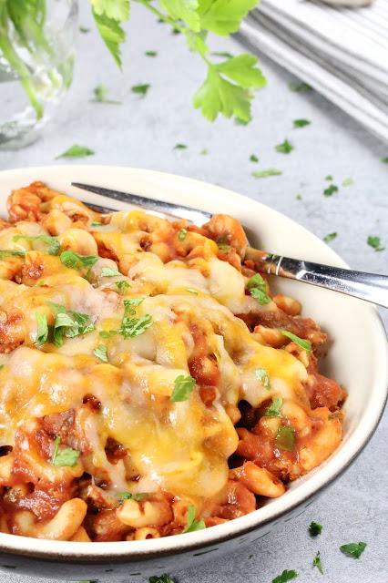 Turkey Taco Mac and Cheese