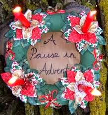 "I'm hosting the ""Pause In Advent"" here - continuing the tradition started by Floss"