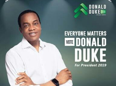 Is Obasanjo Backing Donald Duke For President?