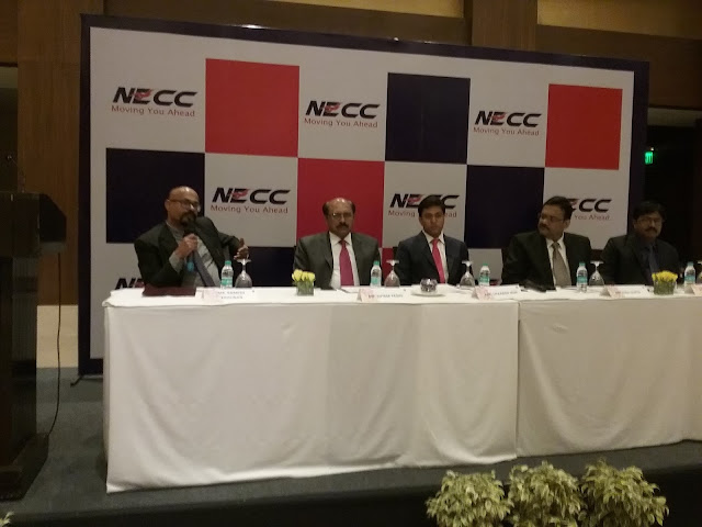 North Eastern Carrying Corporation Limited (NECC) organized a press conference on GST at The Lalit