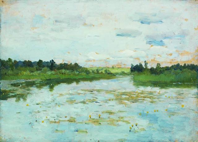 Исаак Ильич Левитан - Озеро. 1895