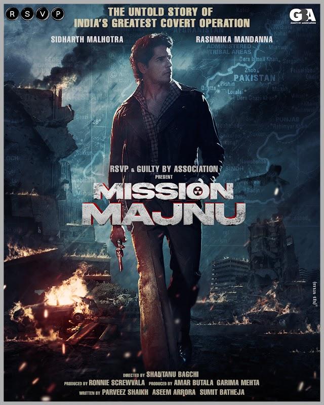 Mission Majnu Movie: Rashmika Mandanna's Bollywood Debut Confirmed
