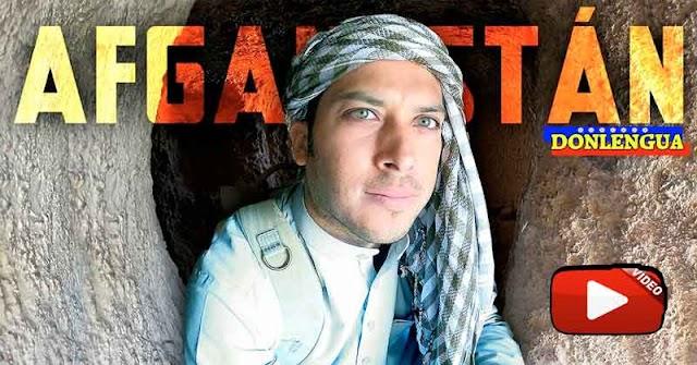 SORPRESA | Alex Tienda estuvo en Afganistan pocos días antes de la toma de los Talibanes Asesinos