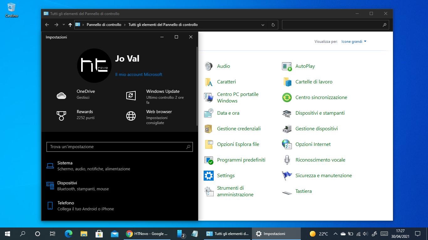 Come aggiungere Impostazioni al Pannello di controllo di Windows 10