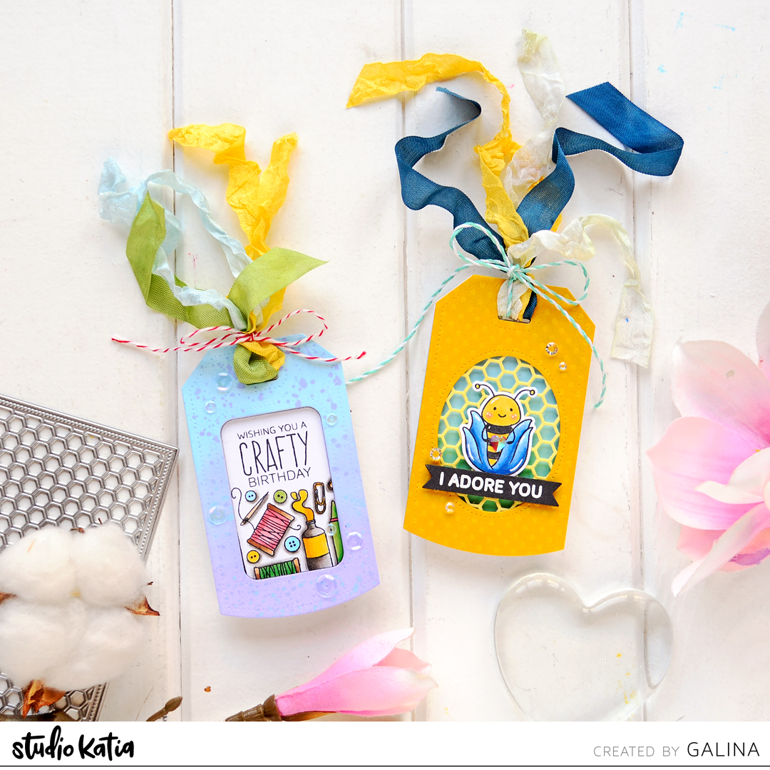 how to make a tag card making ideas