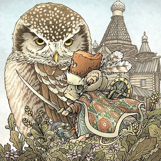 Cover of Mouse Guard: The Owlhen Caregiver #1