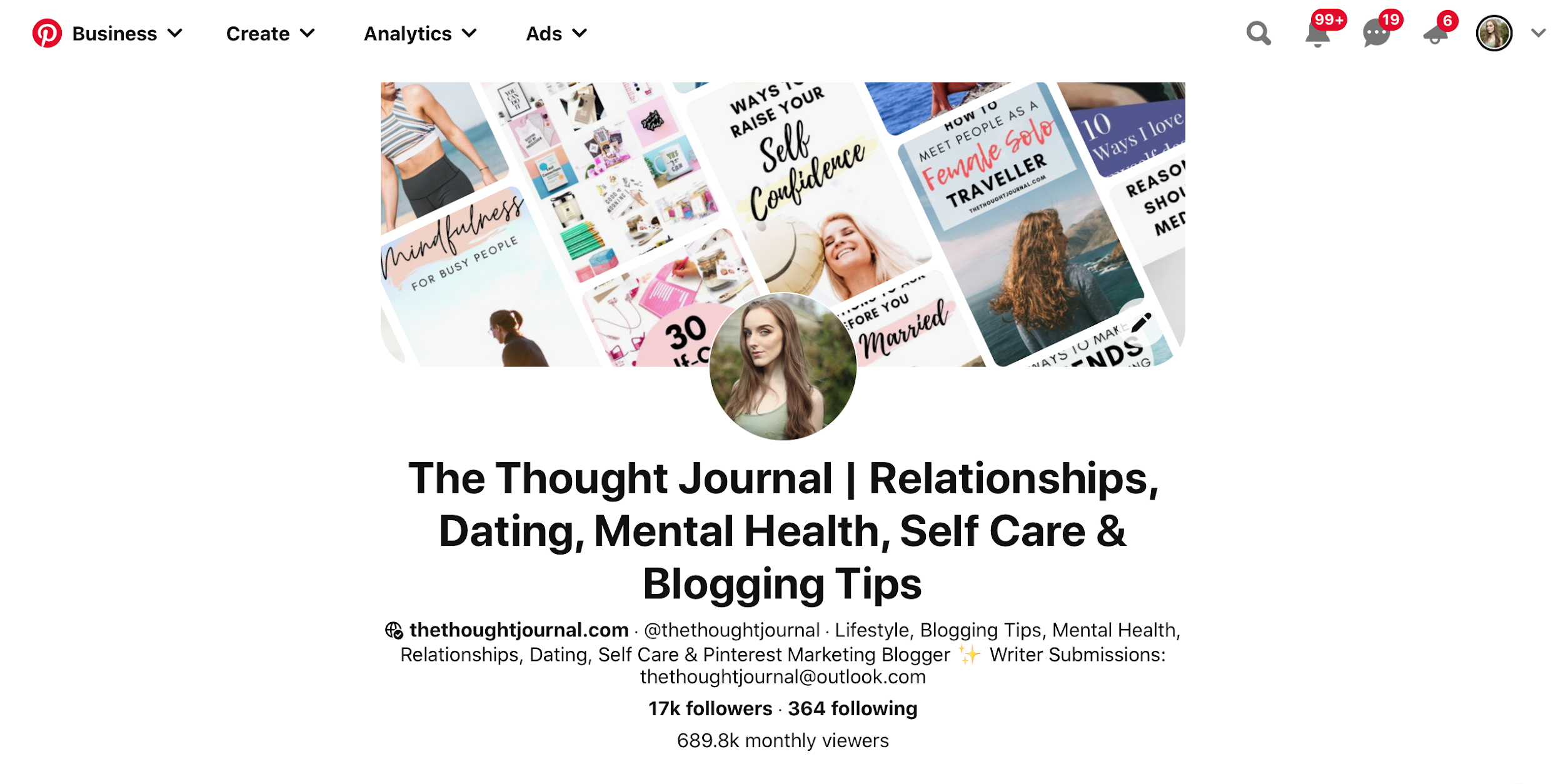 The Thought Journal wellness blog