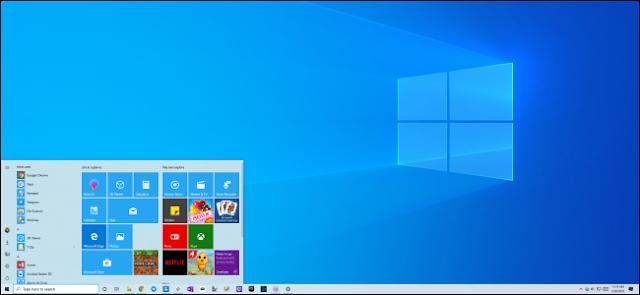 سمة ضوء Windows 10 وخلفية سطح المكتب الجديدة