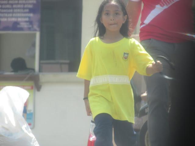 Sukan tahunan sekolah Alisha