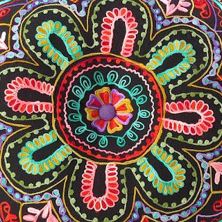 Esempio di Ricamo Creativo Indiano