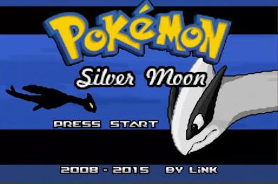 Pokemon Silver Moon para GBA Imagen Portada