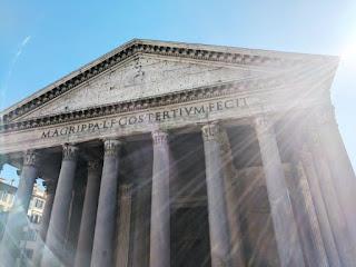 Pantheon facade - Photo by Adam Wood on Unsplash