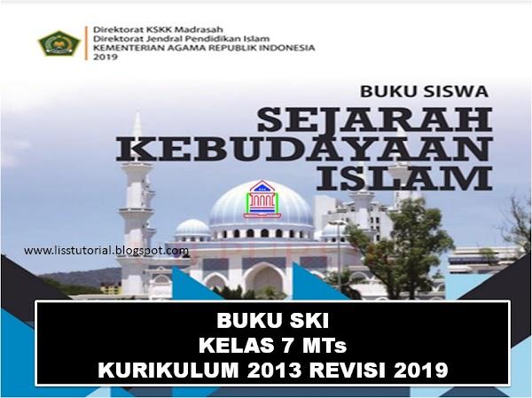 Download Buku SKI Kelas 7 MTs Kurikulum 2013 Edisi Revisi 2019