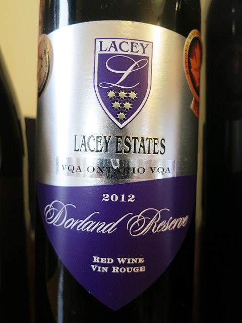 Lacey Dorland Reserve 2012 (88 pts)