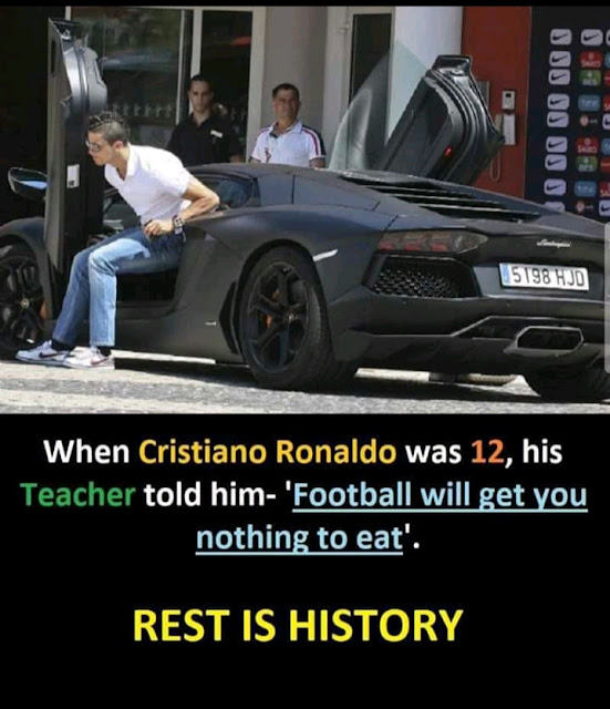 CRISTIANA RONALDO MOTIVATIONAL IMAGE