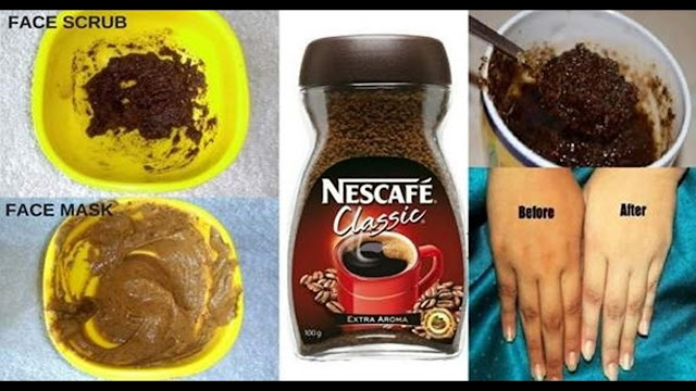 What She Did With Coffee Was Totally Amazing, In Just a few Minutes She Was Looking So Beautiful!