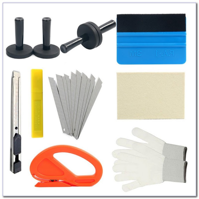 Professional WINDOW TINT Tool Kit For Sale