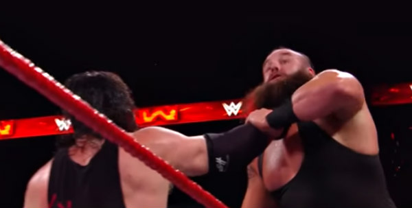 Braun Strowman And Kane