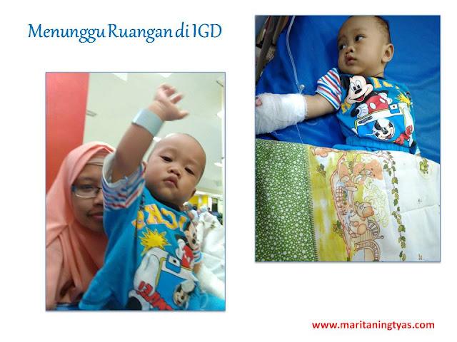 Menunggu Ruangan di IGD RS Wongso Negoro