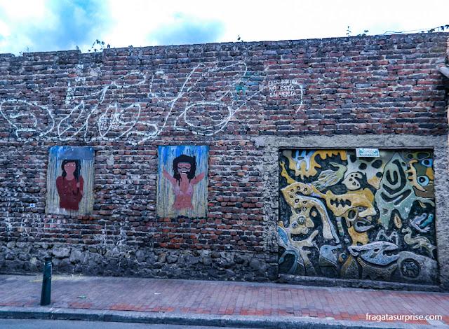 Bairro de La Candelaria, Centro Histórico de Bogotá, Colômbia
