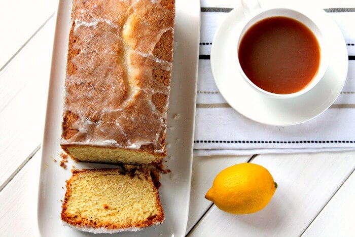 Lemon and Lime Drizzle Loaf Cake