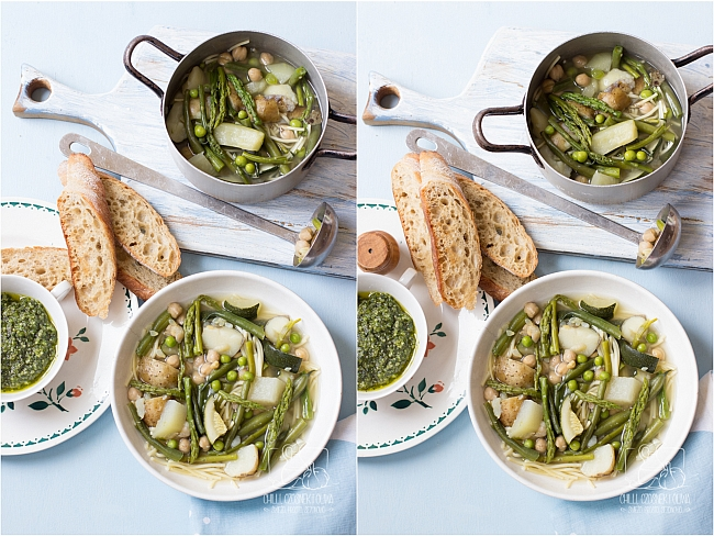 Kulisy fotografii kulinarnej - zdjęcie zupy