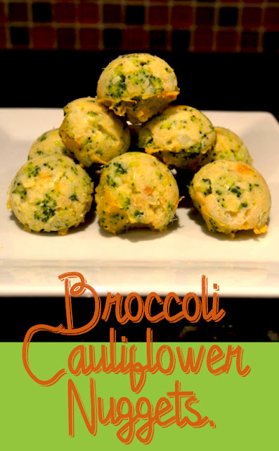 Broccoli Cauliflower Nuggets recipe.