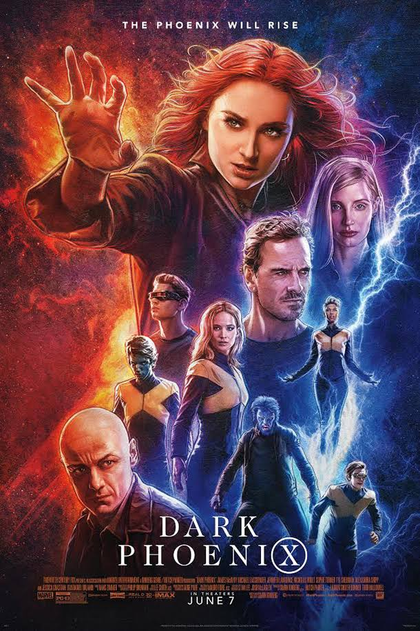 Dark Phoenix 2019 480p 300MB BRRip