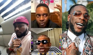 Burna Boy VS Davido: Naeto C, M.I Abaga Take Sides In Battle For Supremacy