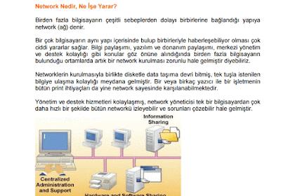 Ağ Temelleri CCNA PDF Dökümanı İndir