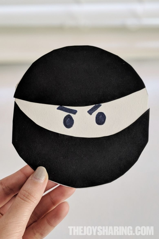 Ninja Father's Day Card Craft