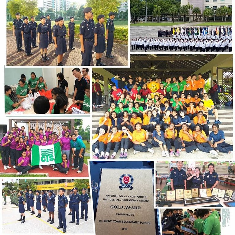 Clementi Town National Police Cadet Corps (CTNPCC)