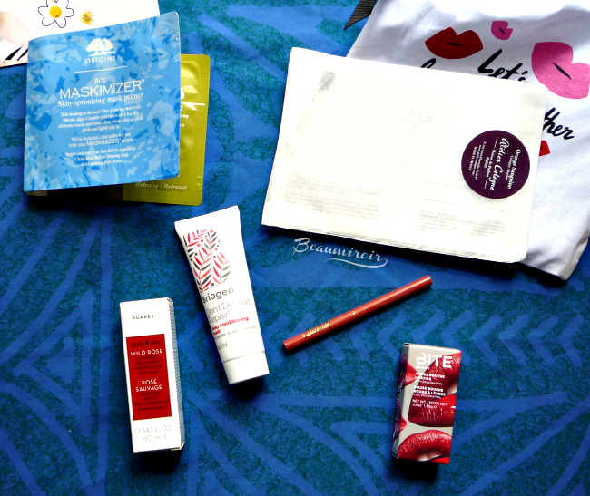Unboxing Sephora Play! beauty subscription box for May 2016: photos, swatches, first impressions