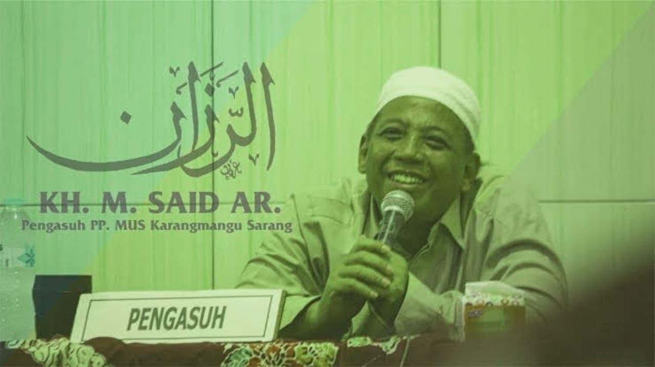 Soroti Peran Ormas Islam, KH M. Sa'id Abdurrochim: Anshor Dulu Lebih Ganas Daripada FPI Sekarang