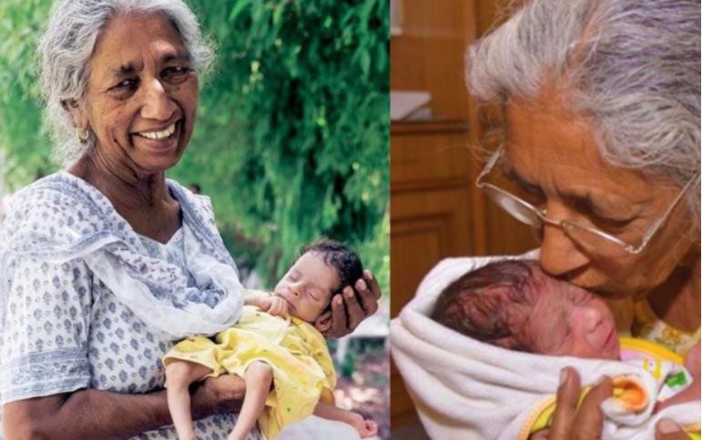 Kilalanin ang pinakamatandang babae sa buong mundo na nagbuntis at nanganak sa edad na 72 yrs old