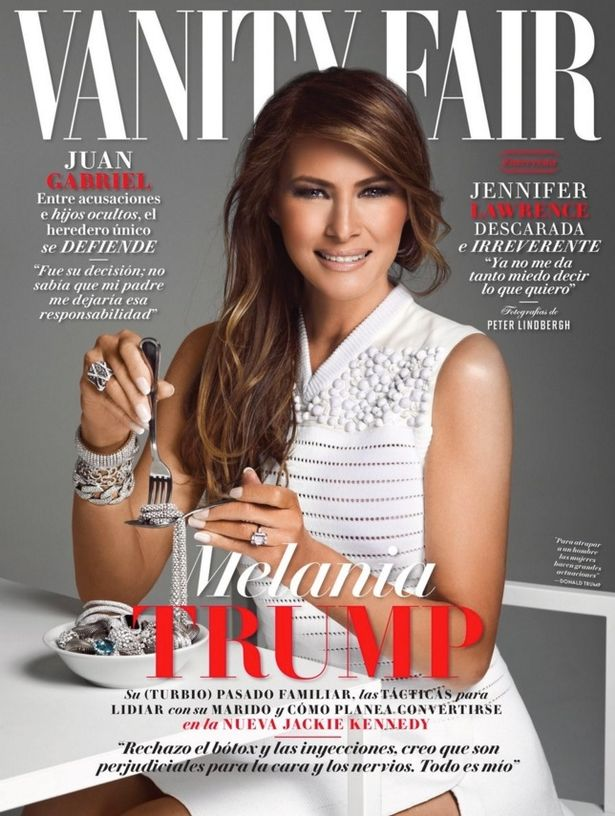 Vanity-Fair-Mexico-featuring-Melania-Trump