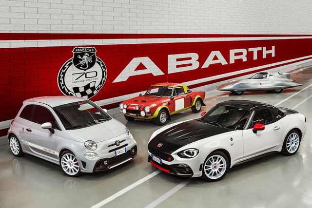 Seventy Years of Abarth Performance and Passion ...