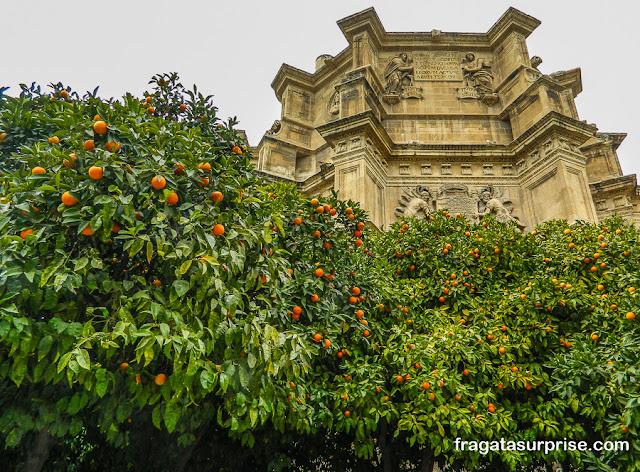 Fachada do Mosteiro de San Jerónimo, Granada