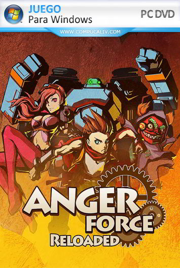 AngerForce Reloaded Arcade Edition PC Full Español