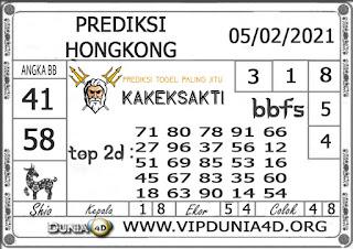 Prediksi Togel HONGKONG DUNIA4D 05 FEBRUARI 2021