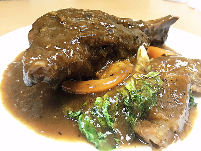 Lamb Shank in Red Wine Stew