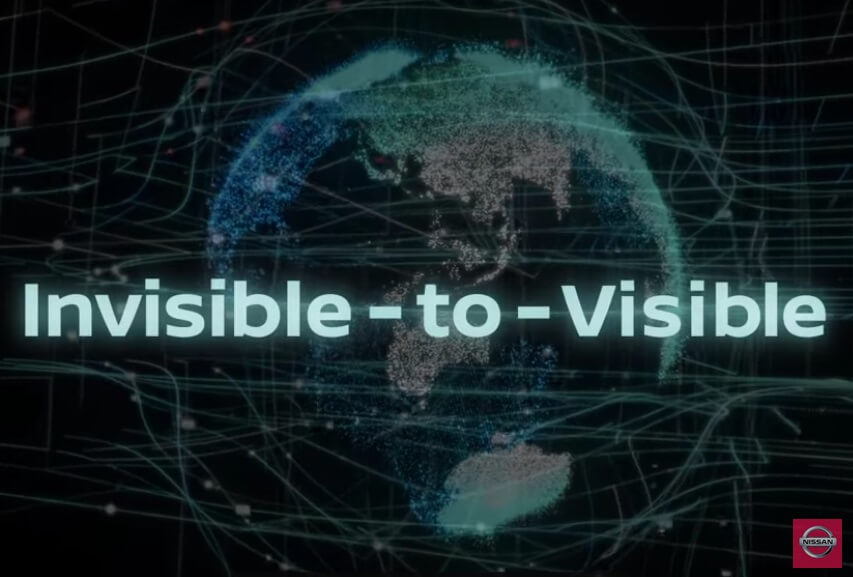 Nissan Invisible-to-Visible Technology Concept Introduces at CES 2019