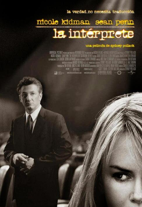 La intérprete - Cartel