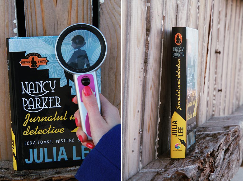 carte nancy parker jurnalul unei detective julia lee corint
