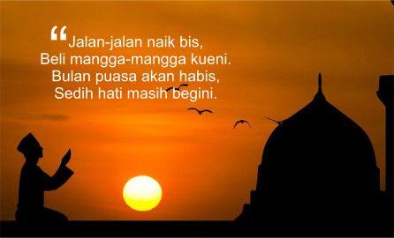 Pantun Ramadhan Tiba 2020 Lucu Menyentuh Hati Terbaik 2 Karat