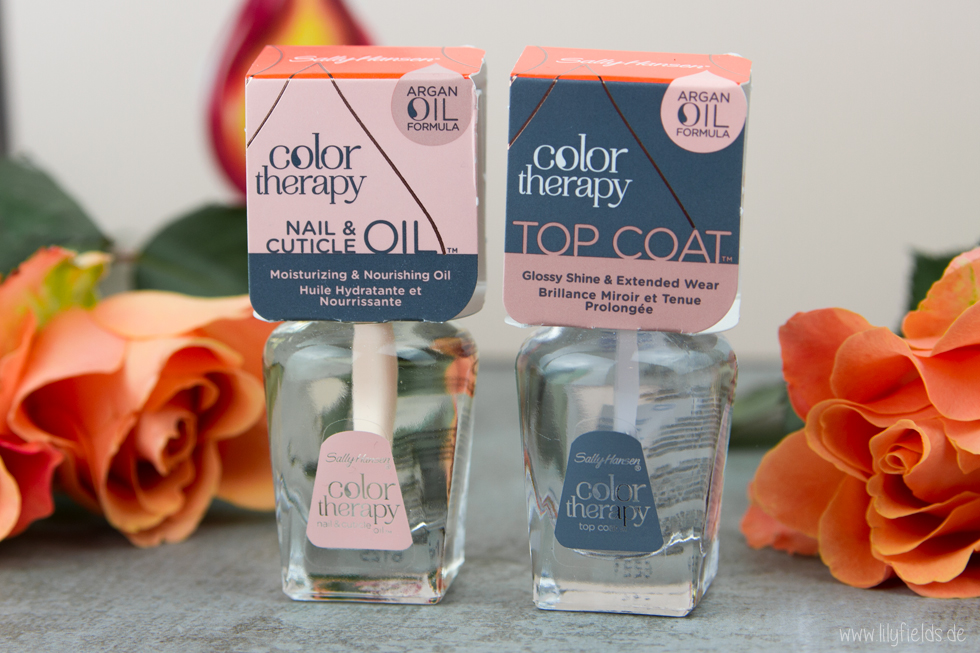 Sally Hansen Color Therapy Nagellack Kollektion