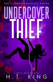 Book cover for undercover thief