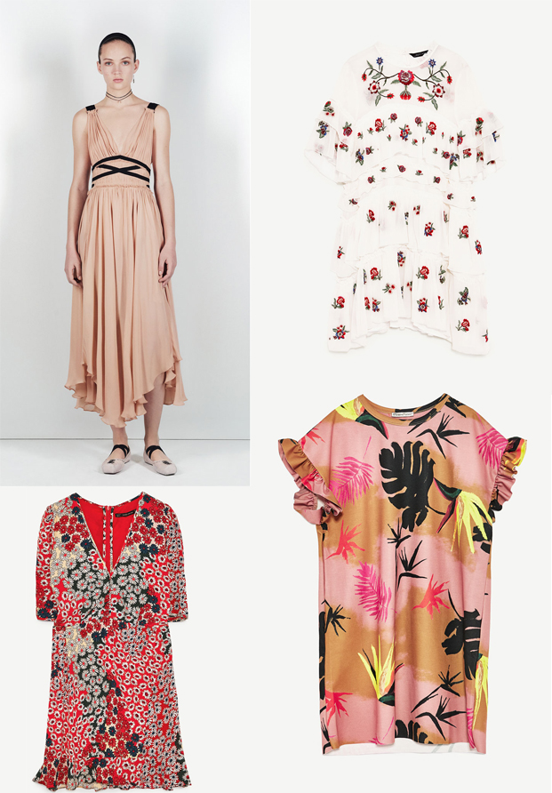 Vestidos de primavera 2017 Zara