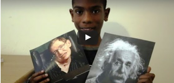 11-Year Boy with Higher Video IQ than Einstein -Hawking