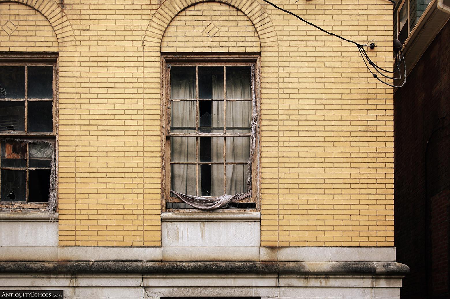 Brownsville General Hospital - Curtains Still Hang